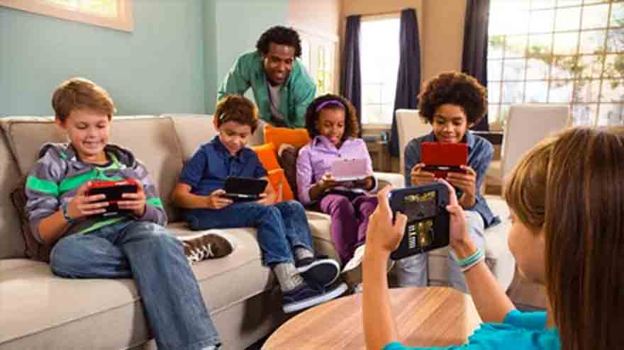 Nintendo 2DS; Kid friendly!