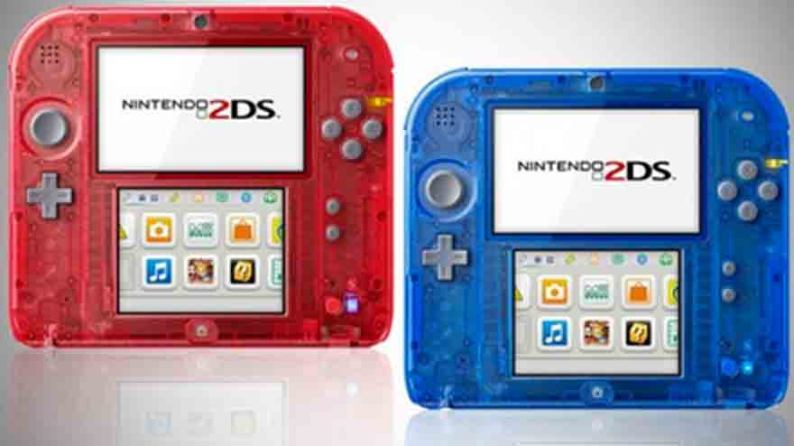 Launch of the transparent Nintendo 2DS
