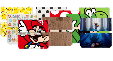 Range of New 3DS cover plates