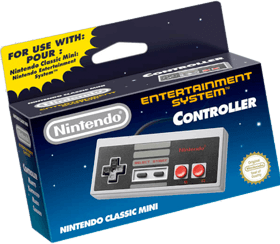 Nintendo Classic Mini Controller - Boxed