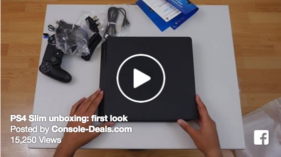 Watch the leaked PS4 Slim unboxing video