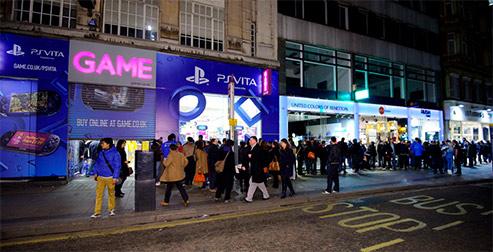 PS Vita released