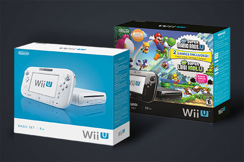Wii U Basic and Premium Models