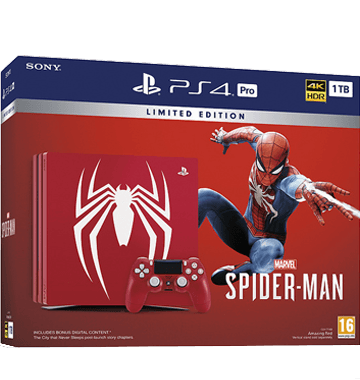 PS4 Pro + Marvel's Spider-Man for just $524.28