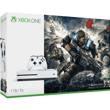 Xbox One S + Gears Of War 4 for just $277.99