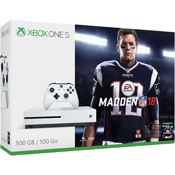 Xbox One S + Madden NFL 18 for just $249.00