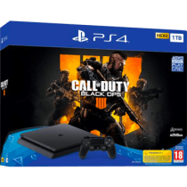 Black PS4 Slim 1TB + Call Of Duty: Black Ops 4 from amazon.com for $325.86
