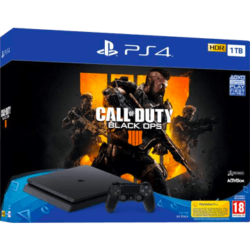 PS4 Slim + Call Of Duty: Black Ops 4 for just $299.99