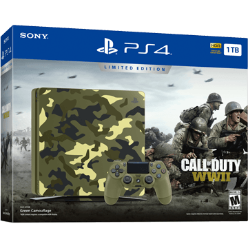 PS4 Slim + Call of Duty: WWII for just $448.19
