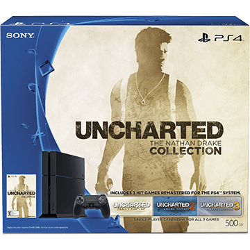 PS4 Standard + Uncharted: The Nathan Drake Collection for just $373.95