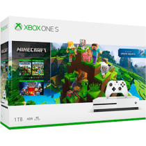 Xbox One S + Minecraft Explorer's Pack + Minecraft Story Mode: The Complete Adventure for just $269.99