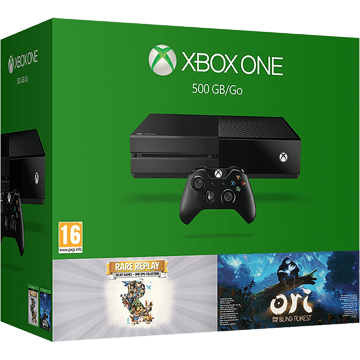Xbox One Standard + RARE Replay + Ori & The Blind Forest for just $399.00