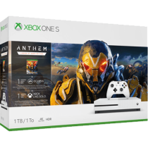 White Xbox One S 1TB + Anthem, Battlefield V and Legion of Dawn Edition from ebay - Rush Hour for $289.99