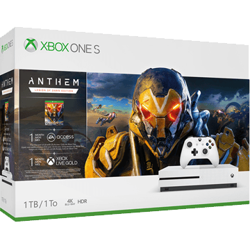 Xbox One S + Anthem for just $299.00