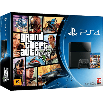 PS4 Standard + Grand Theft Auto V for just $576.00