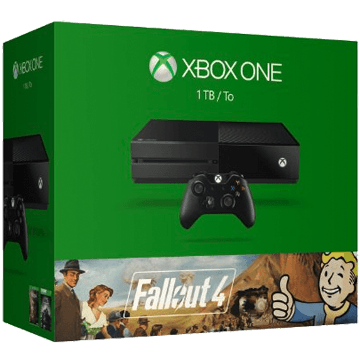 Xbox One Standard + Fallout 3 + Fallout 4 for just $449.29