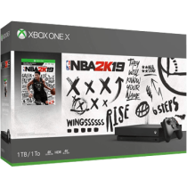 White Xbox One 1TB + NBA 2K19 from ebay - antonline for $353.00