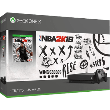 Xbox One X + NBA 2K19 for just $499.99