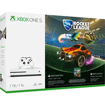 Xbox One S + Rocket League Collector's Edition for just $289.49