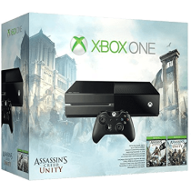 Xbox One Standard + Assassin's Creed: Unity + Assassin's Creed: Black Flag for just $299.99