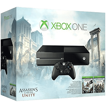 Xbox One Standard + Assassin's Creed: Unity + Assassin's Creed: Black Flag for just $343.89