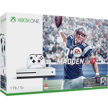 Xbox One S + Madden NFL 17 for just $259.99
