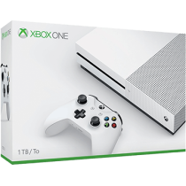 White Xbox One S 1TB from amazon.com for $190.64