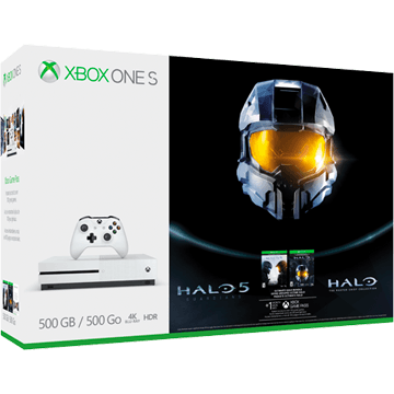 Xbox One S + Halo 5: Guardians + Halo: Master Chief Collection for just $259.00
