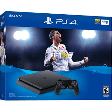 PS4 Slim + FIFA 18 for just $399.00
