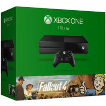 Xbox One Standard + Fallout 4 + Fallout 3 for just $300.00