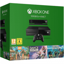 Xbox One + Dance Central: Spotlight + Zoo Tycoon + Kinect Sports Rivals + Kinect Sensor