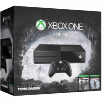 Xbox One Standard + Tomb Raider + Rise of the Tomb Raider for just $300.00