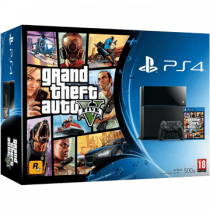 PS4 Standard + Grand Theft Auto V + The Last of Us for just $488.00