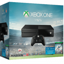 Xbox One Standard + Madden NFL 16 for just $265.00