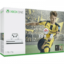 Xbox One + Selected Game + FIFA 17 + Wireless Xbox One S Controller