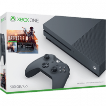 Xbox One S + Battlefield 1 for just £250.00