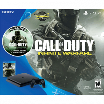 PS4 Slim + Call of Duty: Infinite Warfare + Call of Duty: Modern Warfare Remastered for just $299.99