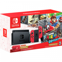 Nintendo Switch Switch + Super Mario Odyssey + Carry Case - Super Mario Odyssey for just $379.99