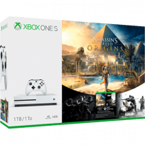 Xbox One S + Tom Clancy's Rainbow Six: Siege + Assassin's Creed: Origins for just £299.99