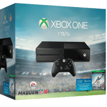 Xbox One Standard + Madden NFL 16 for just $294.98