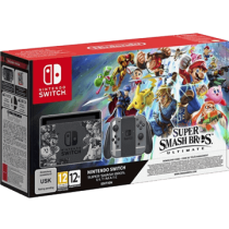 Grey Nintendo Switch 32GB + Super Smash Bros Ultimate from amazon.com for $490.00