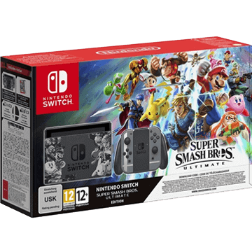 Nintendo Switch Switch + Super Smash Bros Ultimate for just $539.99
