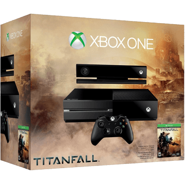Xbox One Standard + Titanfall + Kinect Sensor for just $439.00