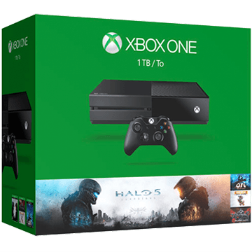 Xbox One Standard bundled with 4 additional items for just $334.48
