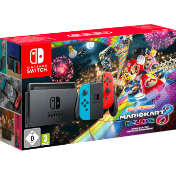 Nintendo Switch Switch + Mario Kart 8 Deluxe for just $385.00