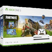 White Xbox One S 1TB + Fortnite from ebay - antonline for $214.99