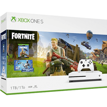 Xbox One S + Fortnite for just $239.99