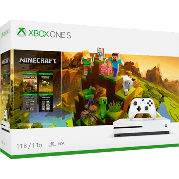 Xbox One S + Minecraft for just $299.99