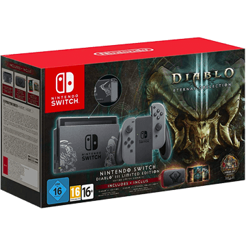 Nintendo Switch Switch + Diablo III: Eternal Collection + Nintendo Switch Carry Case - Diablo III for just $460.00