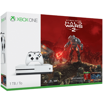 Xbox One S + Halo Wars 2 for just $246.66